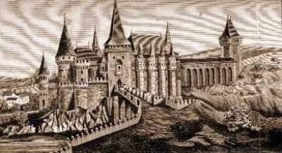 Castelul Huniazilor - Restaurare secolul XIX